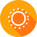 bright, brightness, contrast, light, setting, sun, ui icon