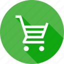 bucket, interface, shopcart, shopping, tray, ui, wheel icon