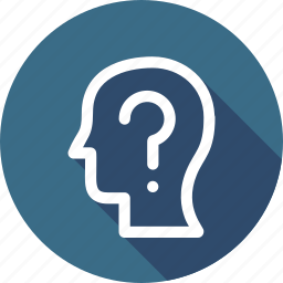 answer, confused, interface, question, ui, user icon