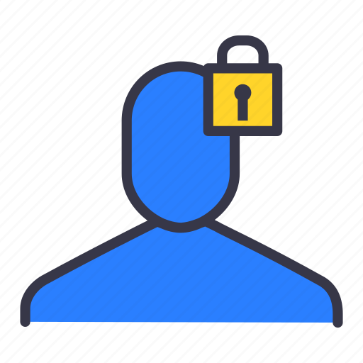 lock, safe, secure, security, ui, user icon