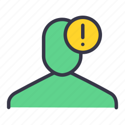 error, notification, remind, reminder, ui, user icon