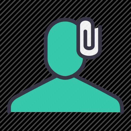 attach, attachment, pin, tag, ui, user icon