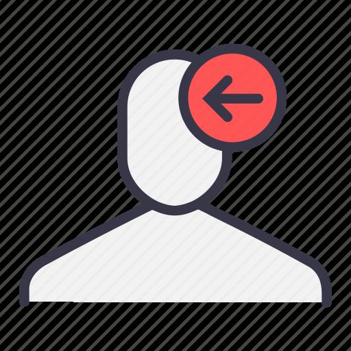 backword, left, receive, send, ui, user icon