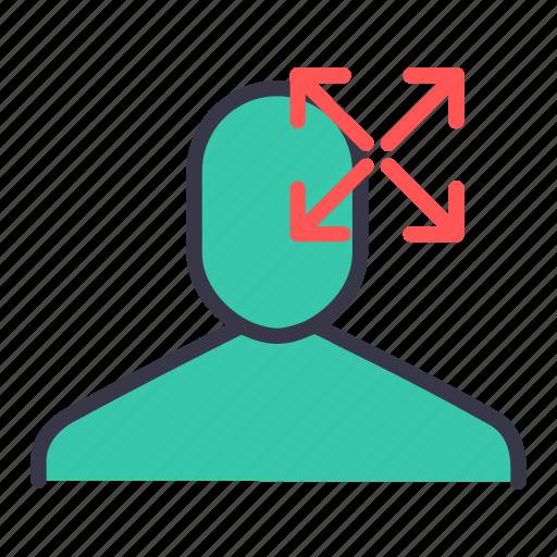 large, maximize, maximum, resize, ui, user icon