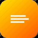 align, alignment, choice, interface, list, option