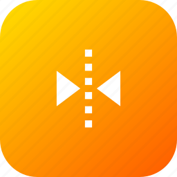 arrange, flip, horizontal, interface, transform, ui icon