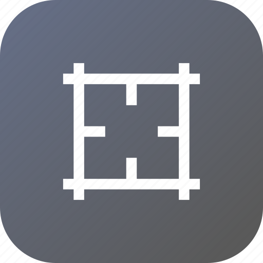 artboard, cross, hairs, interface, type icon