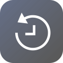 recovery, time, interface, recover, backup icon