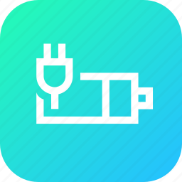 battery, charge, charging, indicator, interface, plug icon