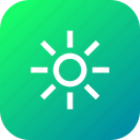brightness, flash, bright, interface, contrast icon