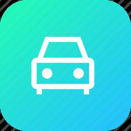 cab, car, drive, interface, texi, vehicle icon