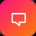 bubble, chat, chatbubble, comment, message, speech, text