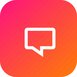 bubble, chat, chatbubble, comment, message, speech, text icon