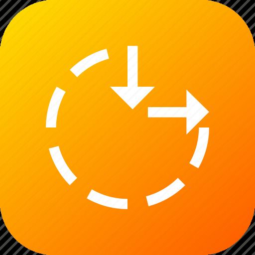 circle, clock, maximum, minimum, resize, tool icon