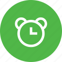 alarm, alert, bell, clock, notification, reminder, time icon