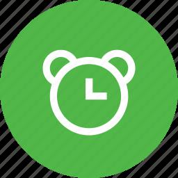 alarm, alert, bell, clock, notification, reminder, time icon
