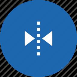 arrange, flip, horizontal, interface, transform icon