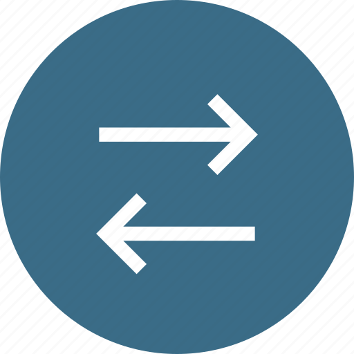 arrow, direction, interface, left, path, right icon