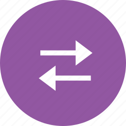 arrow, interface, left, right, two, way icon