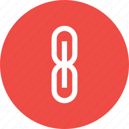 attach, attachment, chain, connect, interface, link, web icon