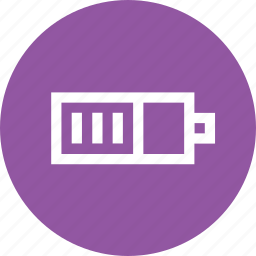 battery, charge, charging, electricity, halfbattery, indicator, interface icon