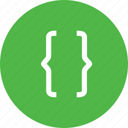 bracket, code, coding, design, devlope, devlopment, margin icon