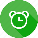 alarm, clock, notification, reminder, time icon