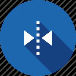 arrange, flip, horizontal, interface, transform, ui icon