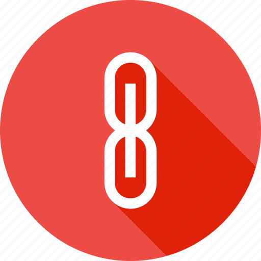 attach, attachment, chain, connect, interface, link, ui icon