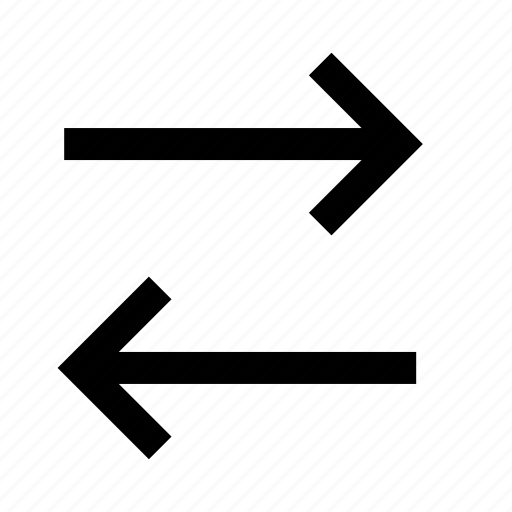 arrow, arrows, interface, left, right, two, way icon