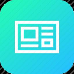 code, html, interface, ui, web, window icon