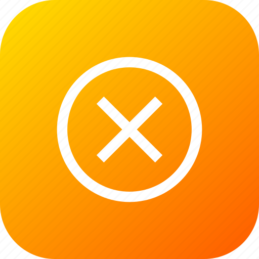 clean, cross, delete, junk, remove, round, sign icon