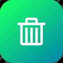 delete, dustbin, garbage, recyclebin, remove, trash