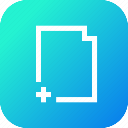add, addition, document, documents, file, note icon