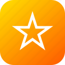 bookmark, favourite, interface, rate, rating, star icon