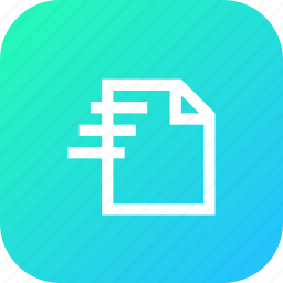 data, details, file, folder, information, interface, list icon