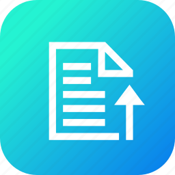 attach, file, interface, note, upload, user icon