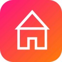 building, home, house, interface, page icon