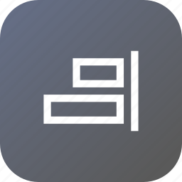 align, arrangements, horizontal, horizontally, left, tool icon