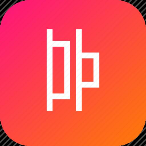 align, center, distribute, horizontal, horizontally, left icon