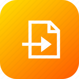 doc, document, file, files, import, interface icon
