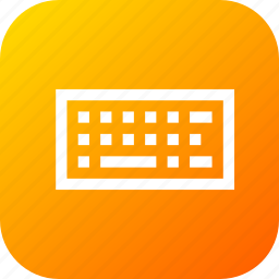attach, device, keyboard, line, peripheral, type icon