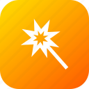 design, interface, magic, tool, wand, shape