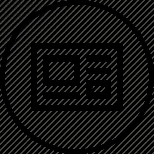 code, html, interface, web, window icon