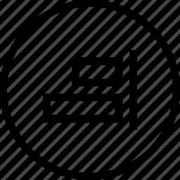 align, arrangements, horizontal, horizontally, left, tool icon