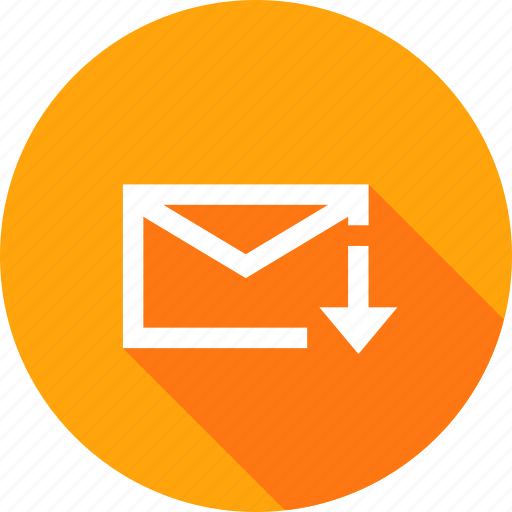 downlaod, email, interface, mail, message, pencil icon