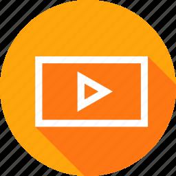 clip, data, file, information, interface, movie, video icon