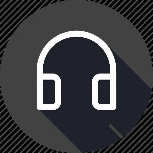 entertainment, headphone, loud, music, song, voice icon