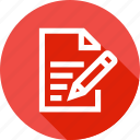 book, memo, note, notebook, pen, pencile, write icon