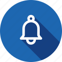 alarm, bell, notice, notification, remind, reminder, round icon